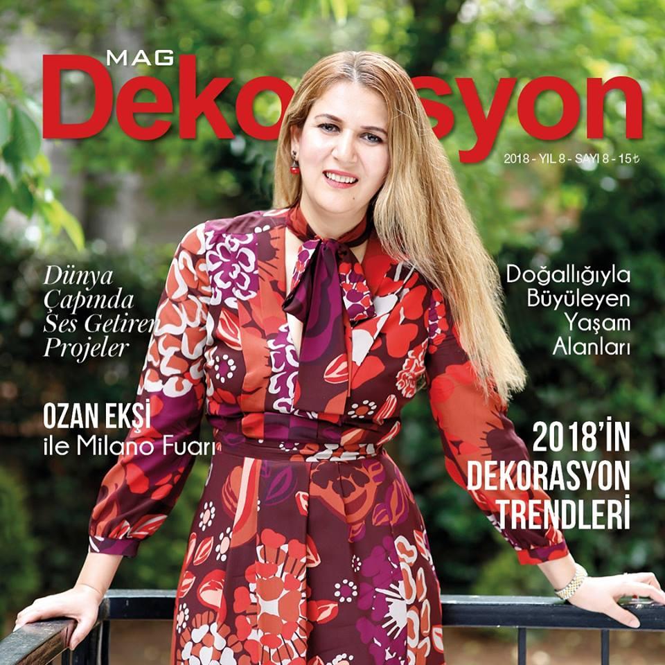 Evren Yiğit | Mag Dergisi Dekorasyon Sayısı | Sıradışı Digital